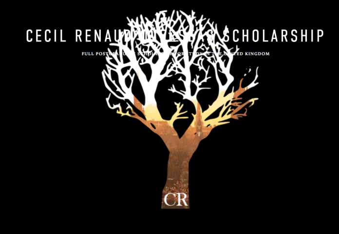 Best And Brightest Scholarship 2020 CECIL Renaud Overseas Scholarship 2020 for young South Africans