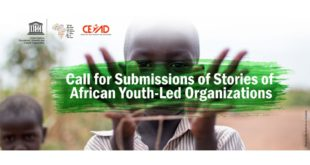 call for submission of stories of african youth led organizations 2020 310x165 - Call for Submission of Stories of African Youth-Led Organizations 2020