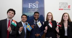 u s foreign affairs information technology fait fellowship 2021 funded 310x165 - U.S. Foreign Affairs Information Technology (FAIT) Fellowship 2021 (Funded)