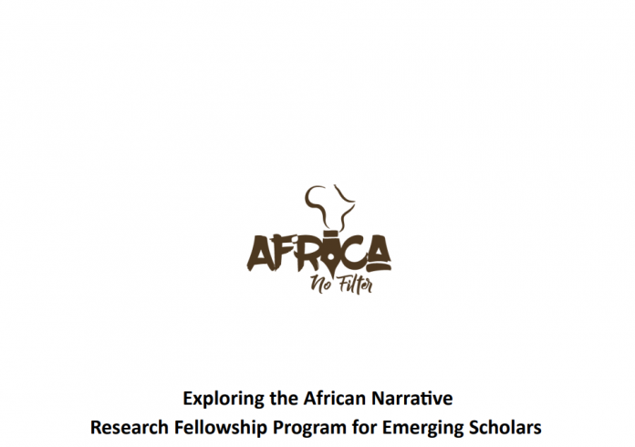 Africa No Filter Research Fellowship Program 2020 for emerging scholars.