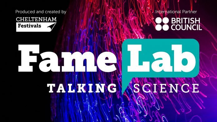 British Council FameLab science communication competition 2021 for young people worldwide (Funded Trip to Cheltenham Science Festival in the UK)